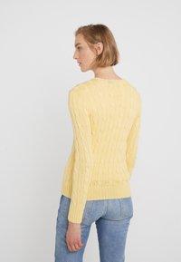 Polo Ralph Lauren - JULIANNA CLASSIC LONG SLEEVE - Maglione - buttercream - 2