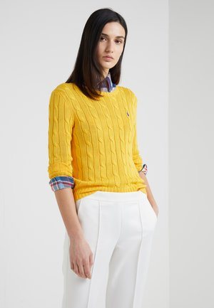 JULIANNA CLASSIC LONG SLEEVE - Maglione - gold