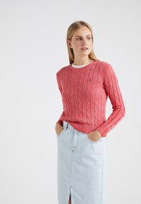 Polo Ralph Lauren - JULIANNA CLASSIC LONG SLEEVE - Maglione - corallo - 0