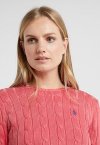 Polo Ralph Lauren - JULIANNA CLASSIC LONG SLEEVE - Maglione - corallo - 4