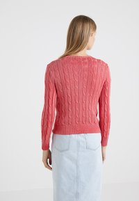 Polo Ralph Lauren - JULIANNA CLASSIC LONG SLEEVE - Maglione - corallo - 2