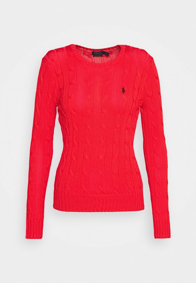 JULIANNA CLASSIC LONG SLEEVE - Sweter - african red
