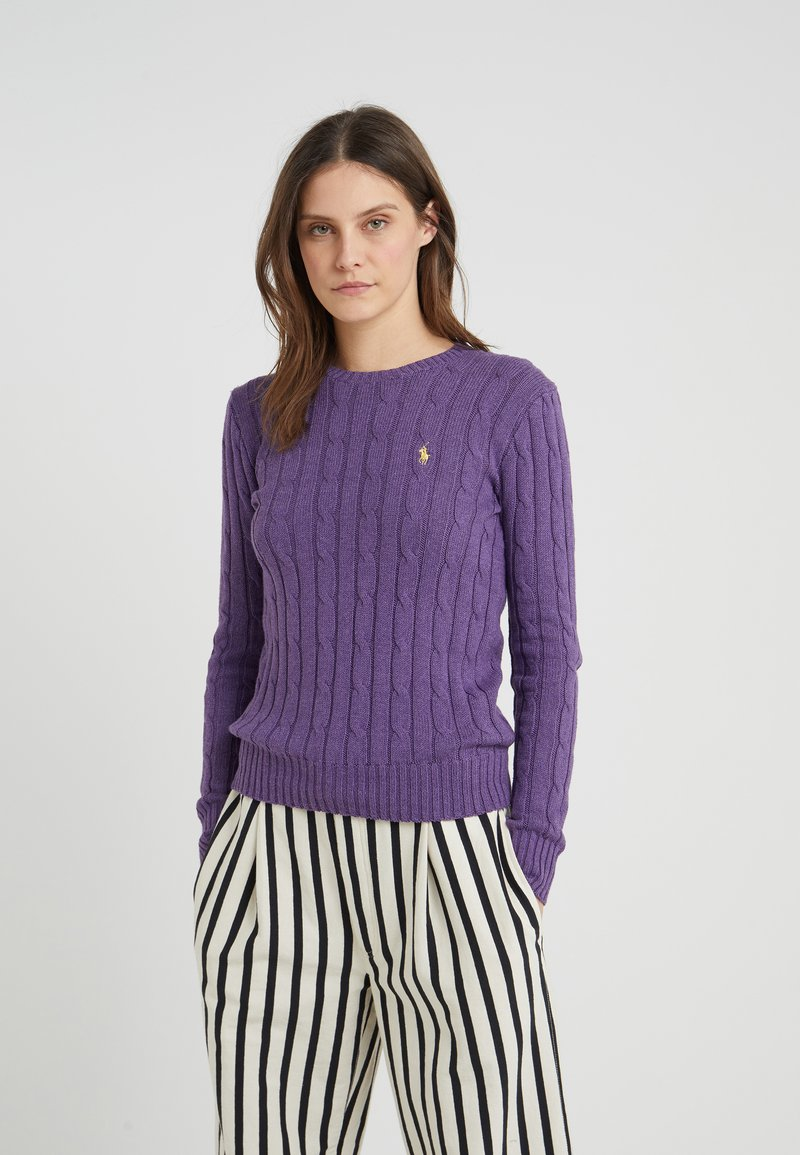 Polo Ralph Lauren - JULIANNA - Jersey de punto - inkberry heather