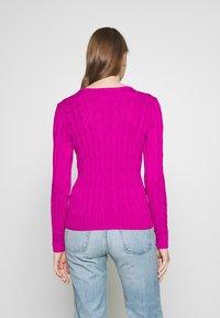 Polo Ralph Lauren - JULIANNA CLASSIC LONG SLEEVE - Jumper - accent pink - 2