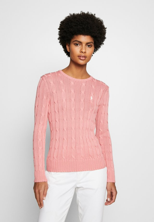 JULIANNA CLASSIC LONG SLEEVE - Sweter - cottage rose