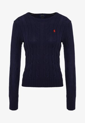 JULIANNA CLASSIC LONG SLEEVE - Jersey de punto - hunter navy