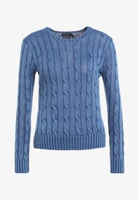 Polo Ralph Lauren - JULIANNA CLASSIC LONG SLEEVE - Stickad tröja - dark blue - 4