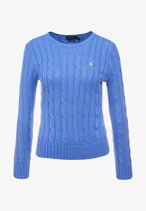 JULIANNA CLASSIC LONG SLEEVE - Stickad tröja - bar harbor blue