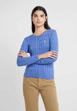 JULIANNA CLASSIC LONG SLEEVE - Sweter - bar harbor blue