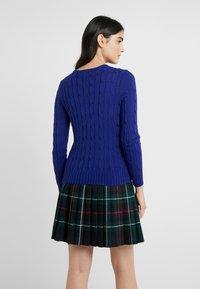 Polo Ralph Lauren - JULIANNA CLASSIC LONG SLEEVE - Sweter - fall royal - 2