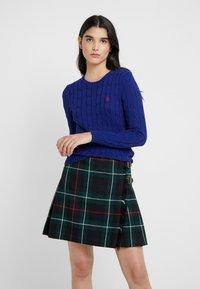 Polo Ralph Lauren - JULIANNA CLASSIC LONG SLEEVE - Sweter - fall royal - 0