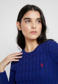Polo Ralph Lauren - JULIANNA CLASSIC LONG SLEEVE - Sweter - fall royal - 3
