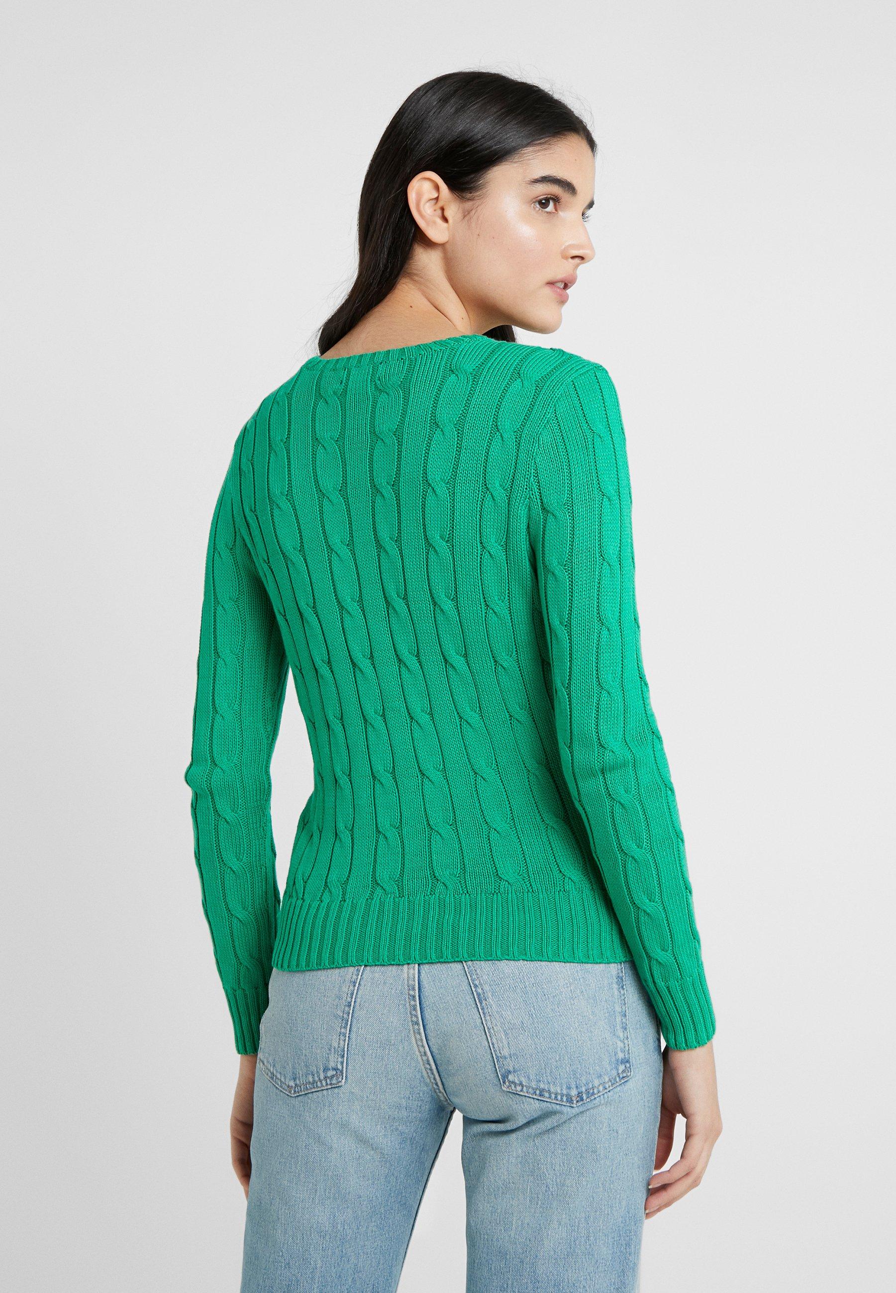 Polo Ralph Lauren Julianna Classic Long Sleeve - Maglione Preppy Green UoFKFGT