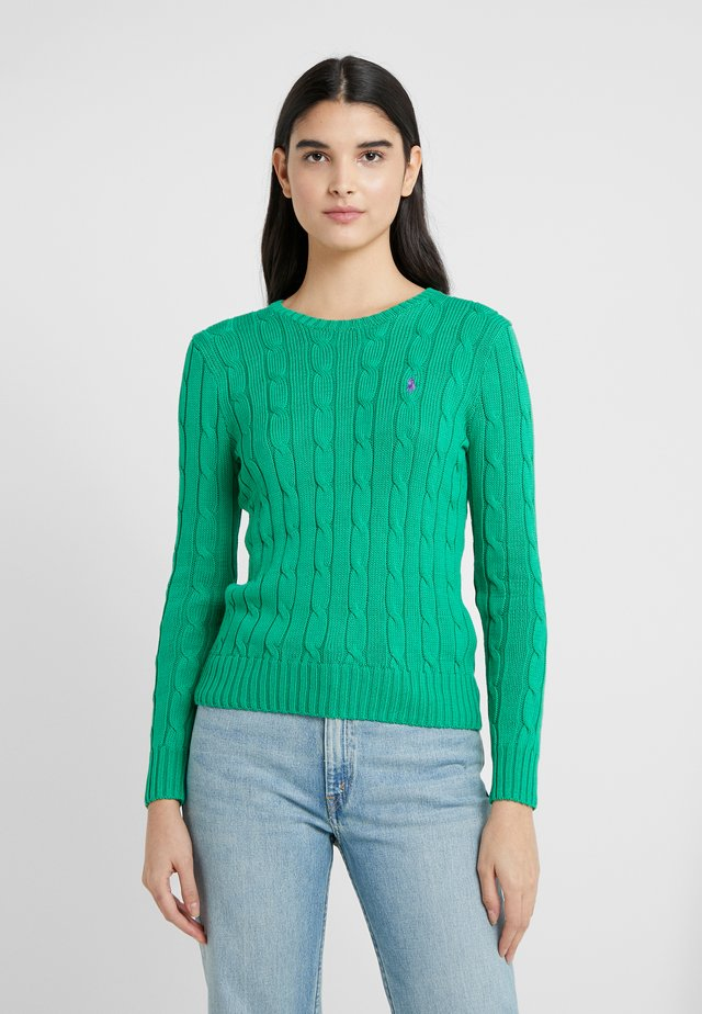 JULIANNA CLASSIC LONG SLEEVE - Sweter - preppy green