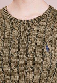 Polo Ralph Lauren - JULIANNA CLASSIC LONG SLEEVE - Jersey de punto - olive - 3