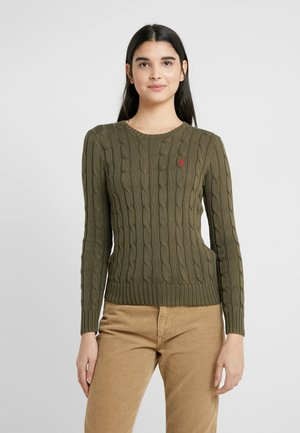 JULIANNA CLASSIC LONG SLEEVE - Maglione - defender green