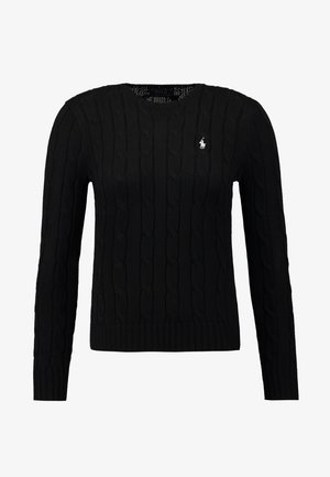 JULIANNA CLASSIC LONG SLEEVE - Stickad tröja - polo black