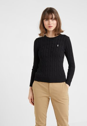 JULIANNA CLASSIC LONG SLEEVE - Jumper - polo black