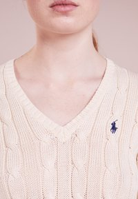 Polo Ralph Lauren - KIMBERLY - Maglione - cream - 3