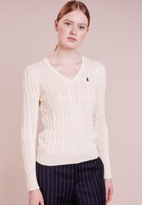 Polo Ralph Lauren - KIMBERLY - Maglione - cream - 0
