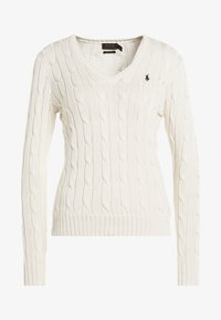 Polo Ralph Lauren - KIMBERLY - Maglione - cream - 4