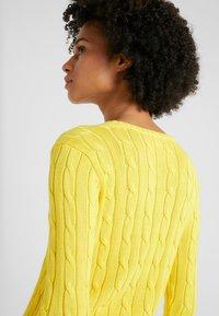 Polo Ralph Lauren - KIMBERLY - Sweter - trainer yellow - 3