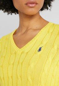 Polo Ralph Lauren - KIMBERLY - Sweter - trainer yellow - 5