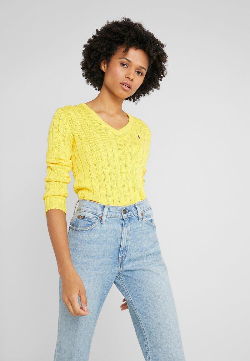 Polo Ralph Lauren - KIMBERLY - Sweter - trainer yellow