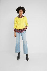 Polo Ralph Lauren - KIMBERLY - Sweter - trainer yellow - 1