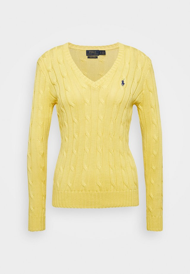 KIMBERLY - Jersey de punto - lemon