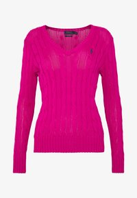Polo Ralph Lauren - KIMBERLY - Sweter - accent pink - 3