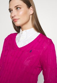 Polo Ralph Lauren - KIMBERLY - Sweter - accent pink - 4