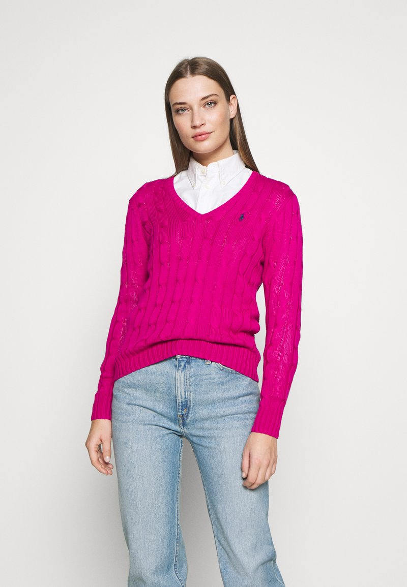Polo Ralph Lauren - KIMBERLY - Sweter - accent pink