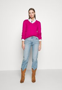Polo Ralph Lauren - KIMBERLY - Sweter - accent pink - 1