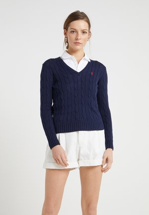 KIMBERLY - Sweter - hunter navy