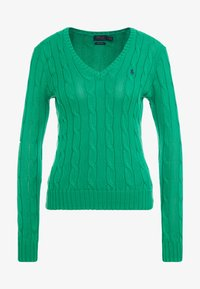 Polo Ralph Lauren - KIMBERLY - Sweter - stem green - 3