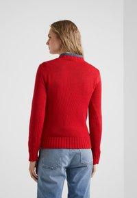 Polo Ralph Lauren - FLAG - Strickpullover - red/multi - 2