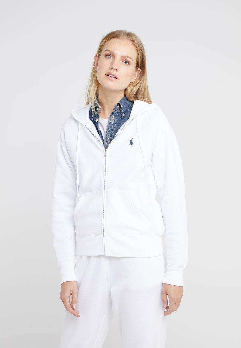 Polo Ralph Lauren - SEASONAL - Sudadera con cremallera - white