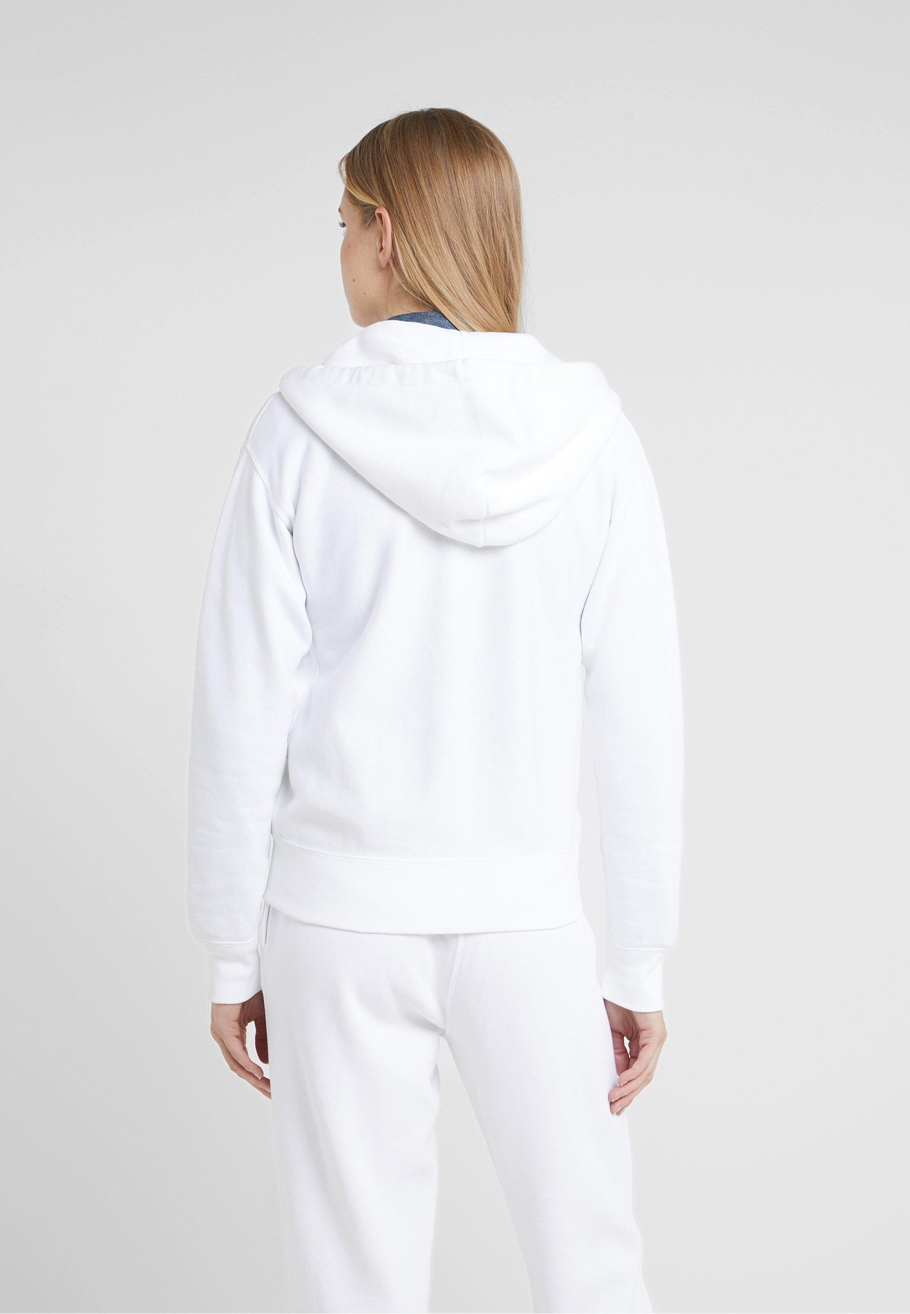 Lauren Zippée White Sweat Polo Ralph En SeasonalVeste srQdthC