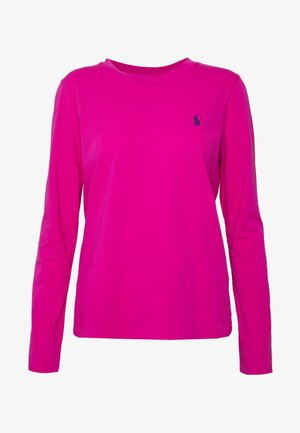 Long sleeved top - accent pink