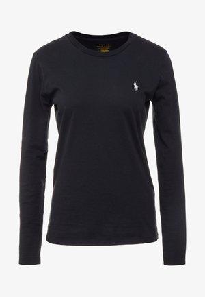 Maglietta a manica lunga - polo black