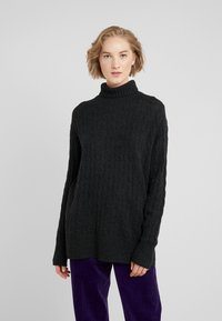 Polo Ralph Lauren - BLEND - Jersey de punto - charcoal heather - 0