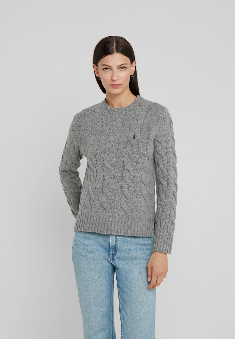 Polo Ralph Lauren - Stickad tröja - fawn grey heather