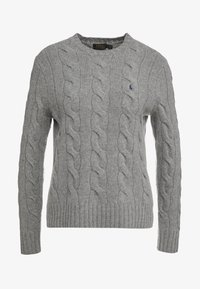 Polo Ralph Lauren - Stickad tröja - fawn grey heather - 3