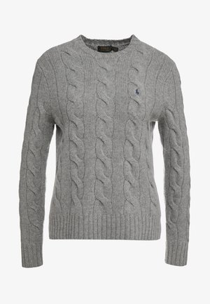 Pullover - fawn grey heather