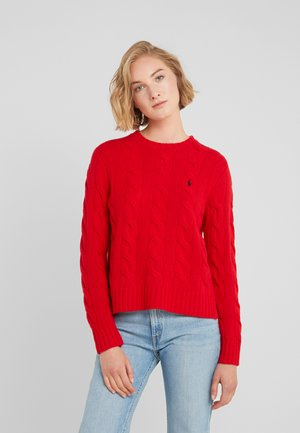 Maglione - fall red