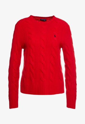 Pullover - fall red