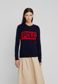 Polo Ralph Lauren - Jersey de punto - hunter navy/fall - 0