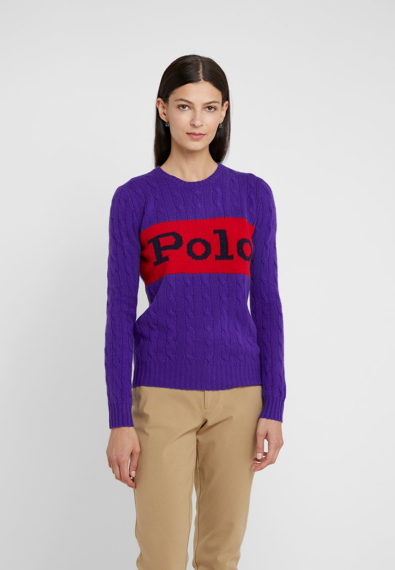 Polo Ralph Lauren - BLEND - Maglione - grand prix purple