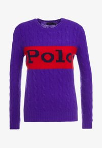 Polo Ralph Lauren - BLEND - Maglione - grand prix purple - 3